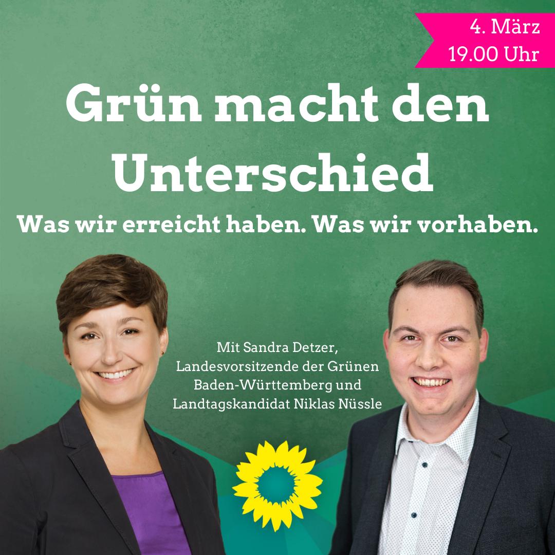 Bericht: Grün macht den Unterschied – Was wir erreicht haben und was wir vorhaben.