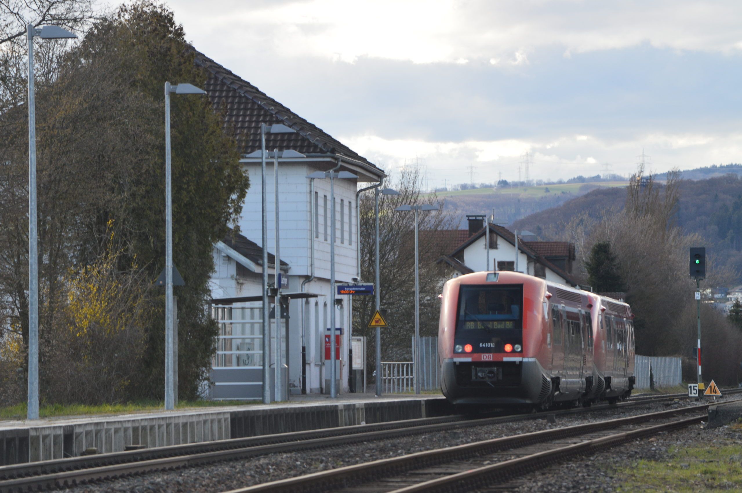 Zweigleisiger Ausbau der Hochrheinbahn notwendig!