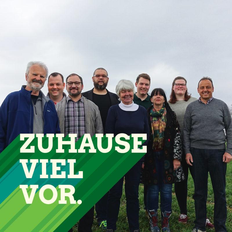 Flyer: Kreistagswahlkreis VI