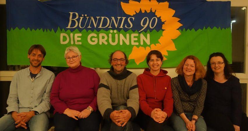 Die Partei Bündnis 90/Die Grünen geht in Küssaberg mit sieben Kandidaten zur Kommunalwahl an den Start