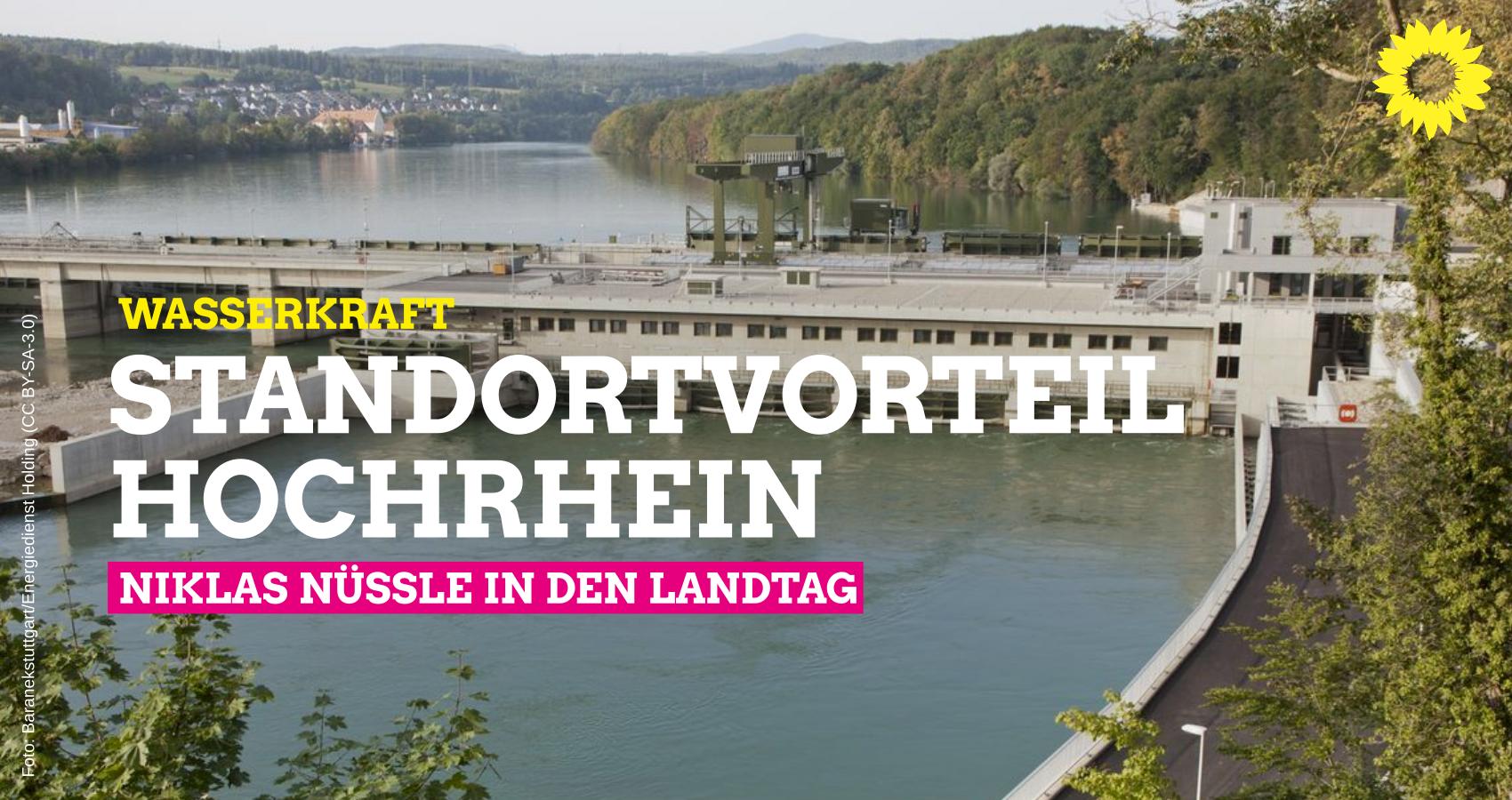 Wasserkraft: Standortvorteil Hochrhein