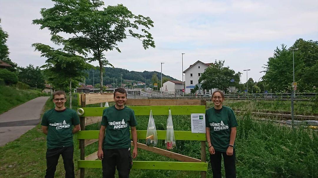 So funktioniert der Gabenzaun der GJ Waldshut am Seltenbachweg