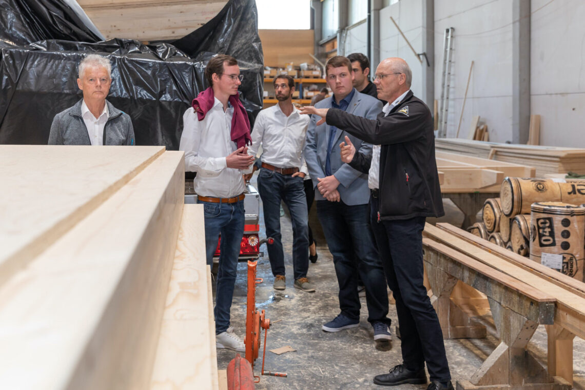Betriebsbesichtigung: Holzbau Amann und Lignotrend