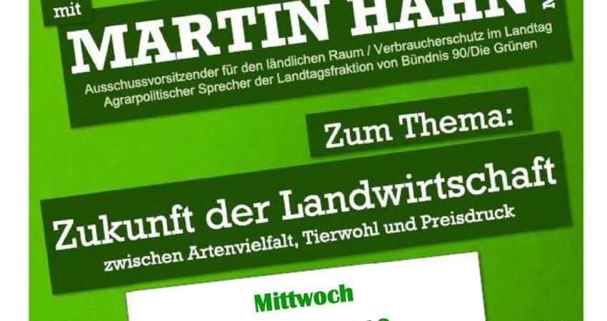 Zukunft der Landwirtschaft: Bürger-Info mit Martin Hahn