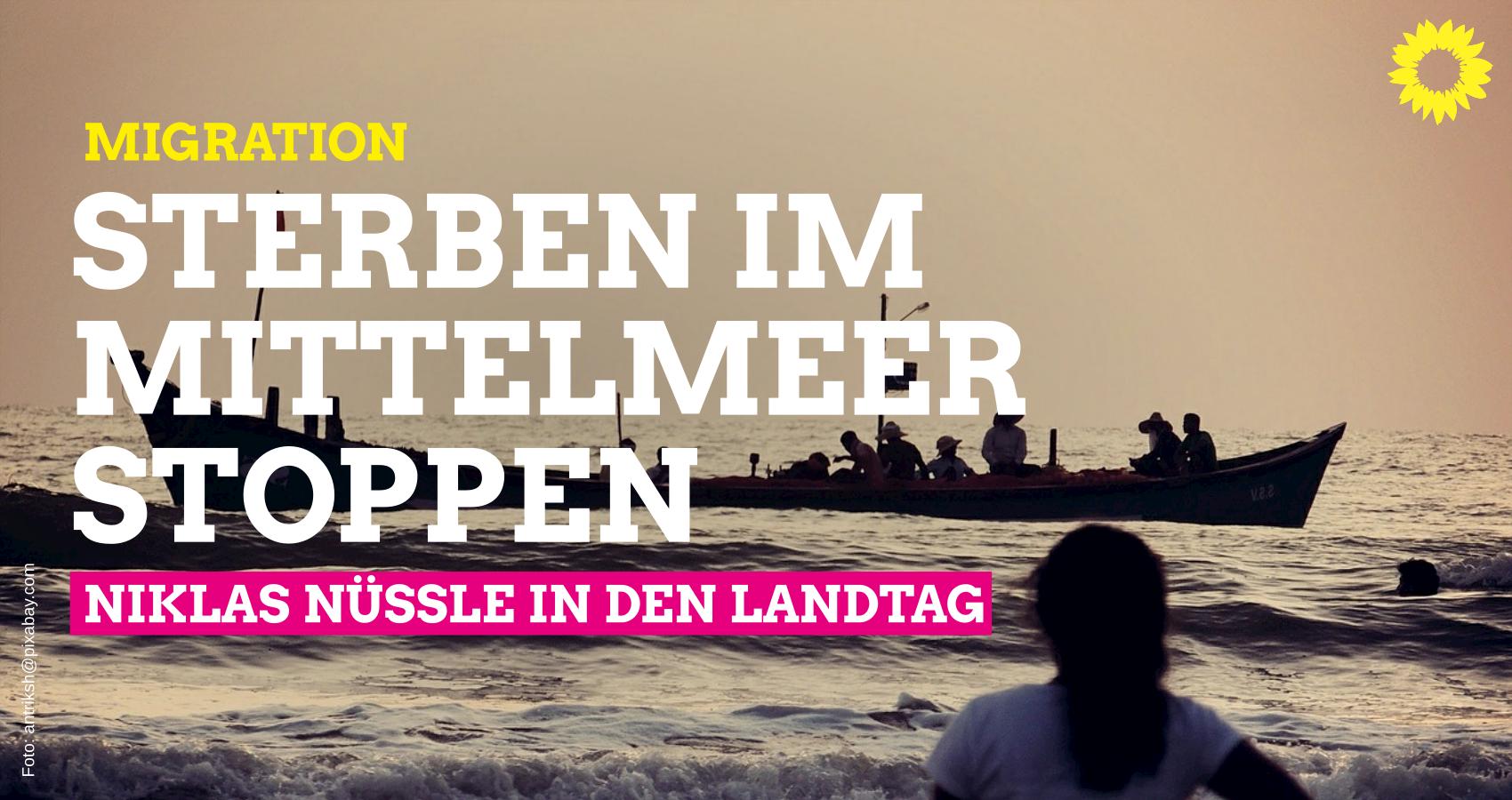 Migration: Sterben im Mittelmeer stoppen