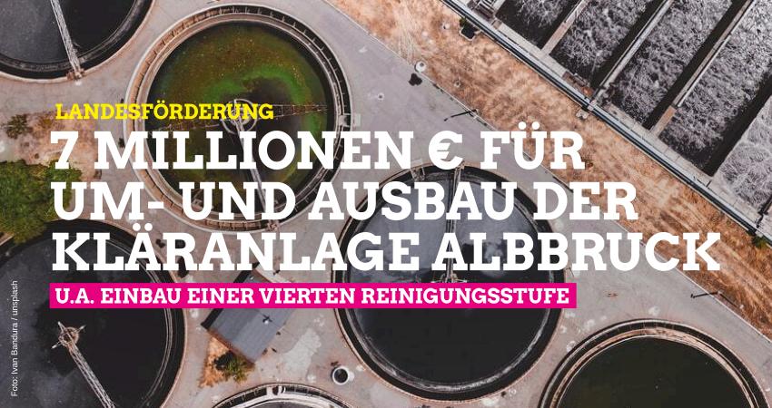 Landesförderung für Umbau der Kläranlage in Albbruck