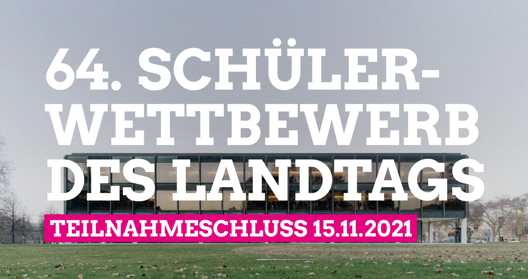 64. Schülerwettbewerb des Landtags gestartet: Niklas Nüssle MdL lädt zum Mitmachen ein