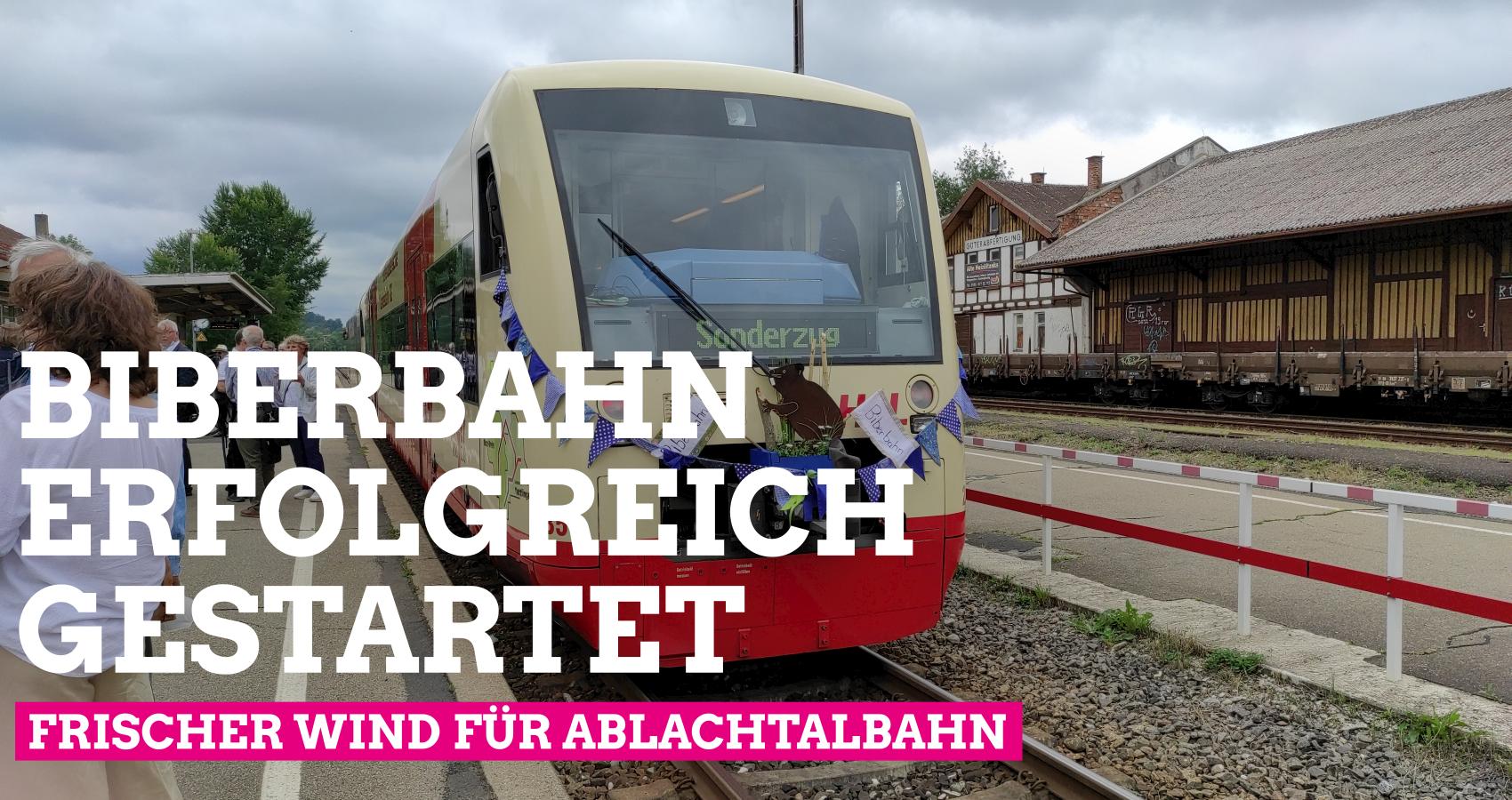 Endlich wieder Zugverkehr zwischen Mengen und Stockach