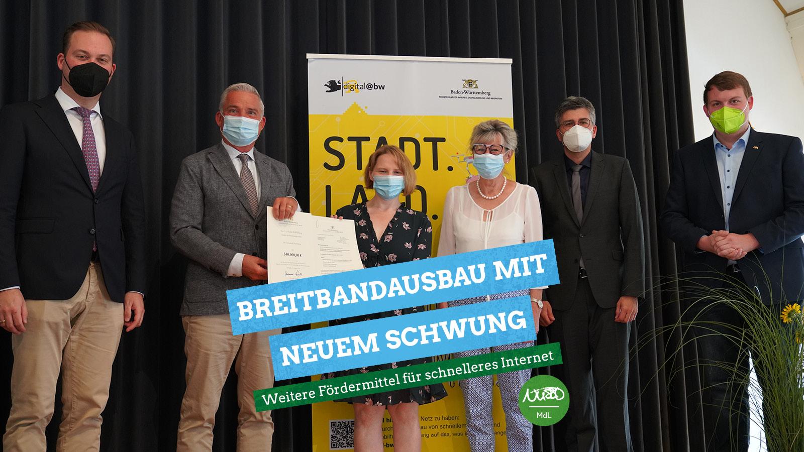 10,8 Mio Euro für weiteren Breitbandausbau