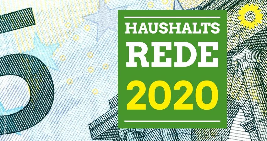 Kreistag: Haushaltsrede 2020